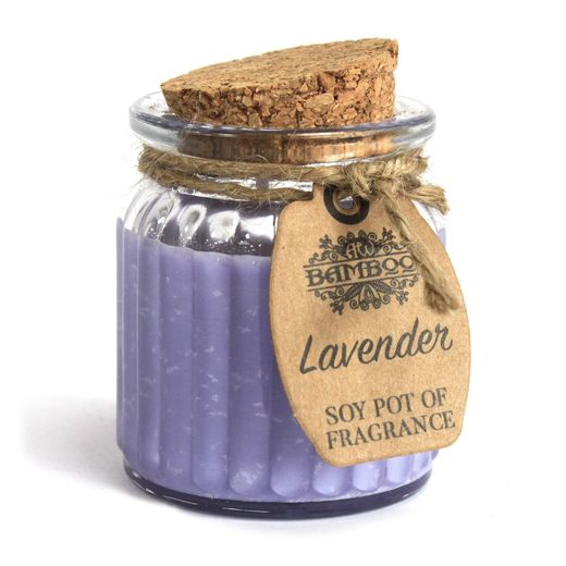 Soy Pot of Fragrance Candles - Lavender